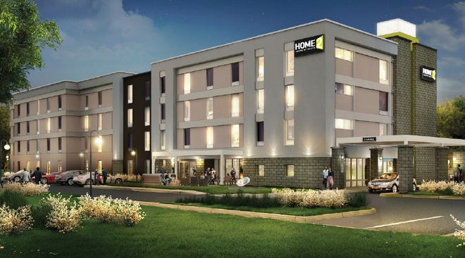 A four-story Home2 Suites by Hilton hotel has been proposed at 11900 N. Port Washington Road in Mequon