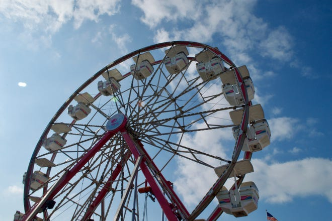 The Century wheel is a fair classic. Waukesha County Fair visitors can find the wheel on the west side of the fairgrounds.