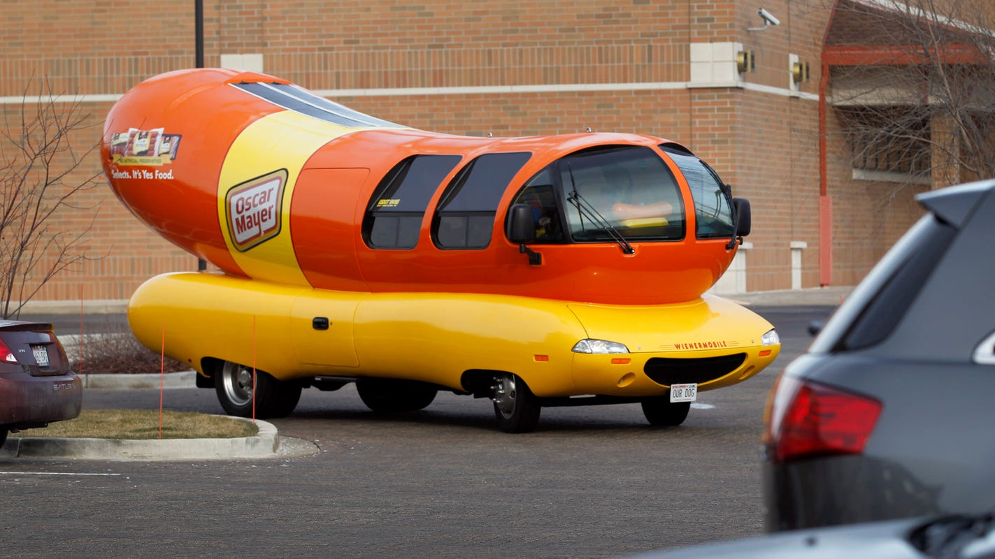This Oscar Mayer Wienermobile was grilled over the Move Over Law in a Waukesha traffic stop