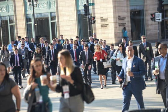 Northwestern Mutual's annual meeting, one of Milwaukee's largest events, will be converted to a virtual format this year because of concerns about the COVID-19 pandemic.