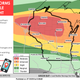 Severe weather outbreak possible across portions of Wisconsin as heat, humidity grip state, nation