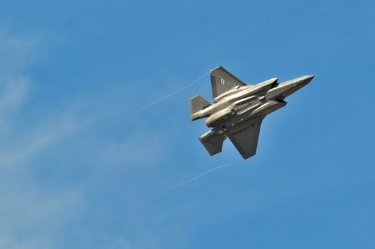 The F-35A Lightning II Demo Team is making its first appearance at the Milwaukee Air & Water Show in 2019.