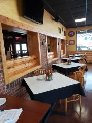 The dining room of the Original Crawdaddy's Roadhouse, which recently opened at 9638 W. National Ave. in West Allis.