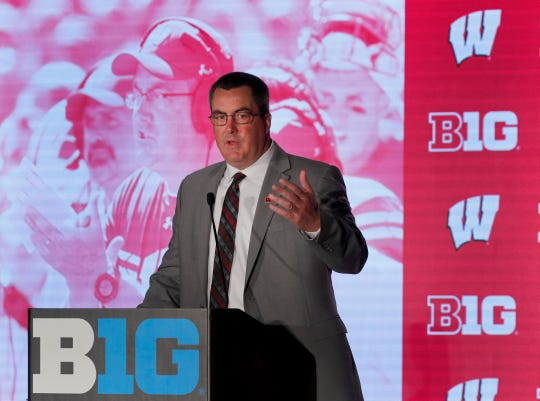 Badgers football coaches learned valuable lessons after disappointing 2018, plus other takeaways from the Big Ten meetings