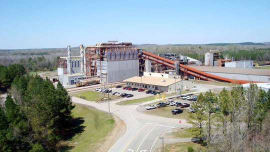 An aerial view shows the Millport, Ala., Steel Dust Recycling facility owned by  Zinc Nacional, the company that is partnering to build a similar plant in Muncie.