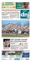 Coverage of the Christiana tornado in November 2018 earned first-place honors for The Daily News Journal in the 2019 TPA contest.