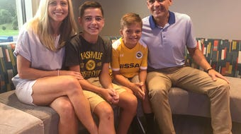 Hendersonville 10-year-old Colby Hitchcock has a congenital heart defect. He'll have his Make-A-Wish granted to meet Lionel Messi.