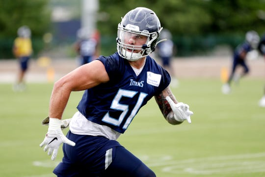 huge discount 9350d 9dc22 Titans: 3 newcomers on bubble for roster spot