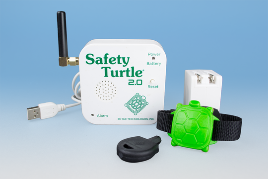 The Safety Turtle swimming safety alarm