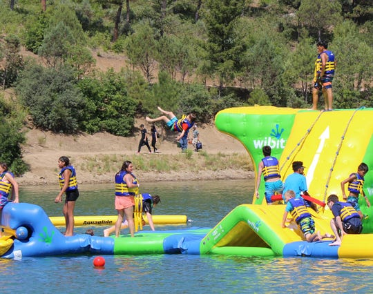 The Wibit Water Park at Grindstone  Lake was scheduled to open May 22, 2020. The Water Park will remain closed indefinitely in the wake of COVID-19.