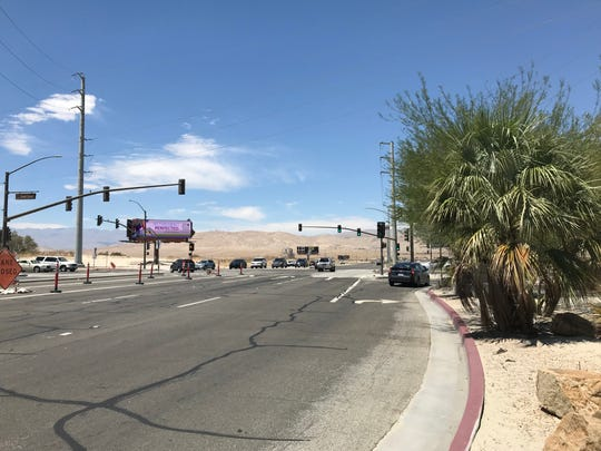 The intersection of Bob Hope and Dinah Shore drives in Rancho Mirage is among those that made a list of priorities where improvements for pedestrian and cyclist safety are needed.