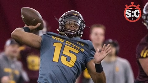 save off 27d26 92580 Who will be the starting quarterback at ASU?