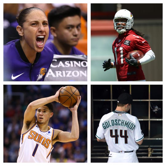 Who should replace Paul Goldschmidt on the Mount Rushmore of active Arizona professional athletes?