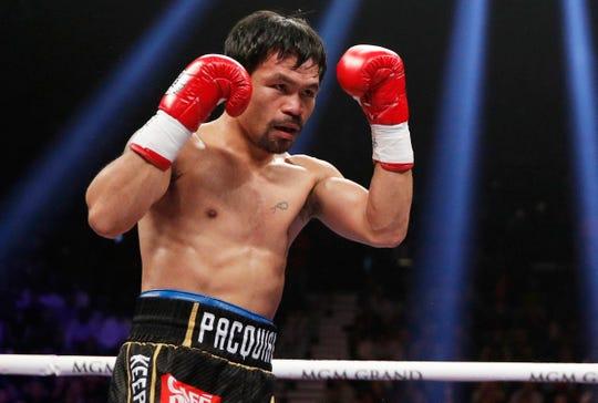 Manny Pacquiao es una leyenda del boxeo.