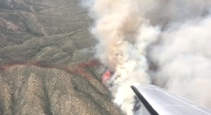 Cellar Fire spreads, forcing an evacuation order in Yavapai