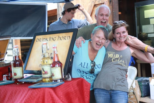 Kelly Czarnecki at Drinking Horn Meadery helped inspire the Mead and Cider Festival.