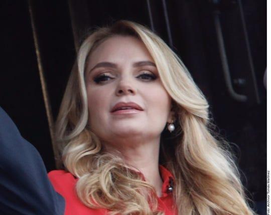Angélica Rivera, ex primera dama de México.