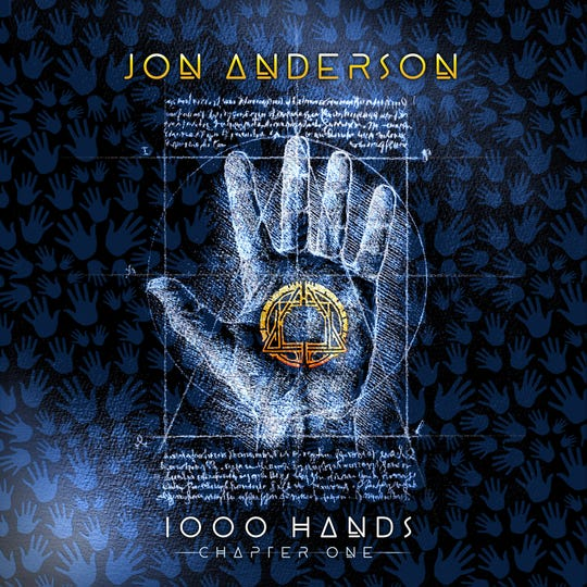"The album cover for ""1000 Hands: Chapter One"" by Jon Anderson of Yes fame."