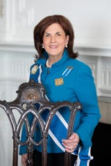 Denise Doring VanBuren is the first woman from Dutchess County to be elected the 45th president general of the National Society of the Daughters of the American Revolution.