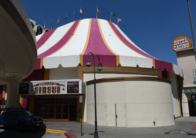 The Circus Circus in downtown Reno on July 19, 2019.