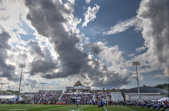 The Buffalo Bills will return to St. John Fisher College for training camp on July 25.