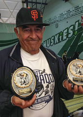 Alvarado was inducted into the California Wrestling Hall of Fame in 2011 along with longtime friend and colleague Terry Espinoza.
