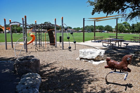Meadowcreek Park has tennis and basketball courts as well as a playground and places to grill out.
