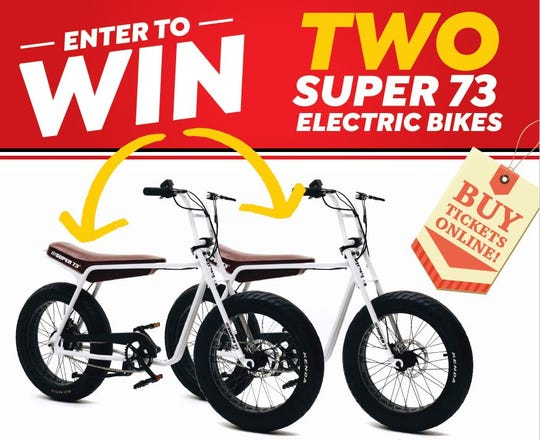Super73-Z e-bikes have a top speed of 15 miles-per-hour and a range of 25 miles.
