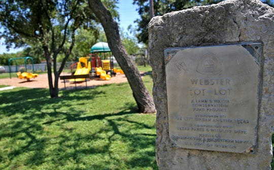 The Webster Tot-Lot Park has a tricycle drive, a playground for tots and a picnic area with grills.