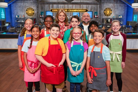 Season 7 of the  Kids Baking Championship includes nine contestants. One of the nine is San Angelo native Brady Stewart, 12.