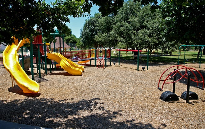 Martin Luther King Jr. Memorial Park has places to play basketball, tennis and baseball in addition to a playground and picnic areas.