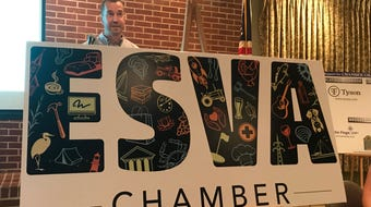 The Eastern Shore of Virginia Chamber of Commerce has a new logo.