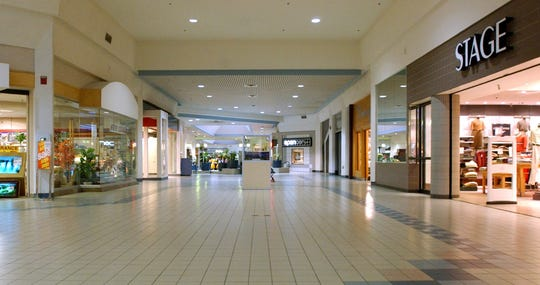South Park Mall is pictured in its final days.
