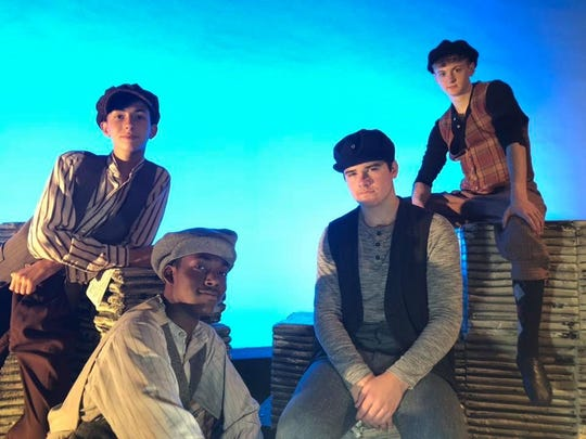 """Disney's """"Newsies"""" will run July 18-21 at Marjorie Lyons Playhouse, presented by Stage Center theater company."""