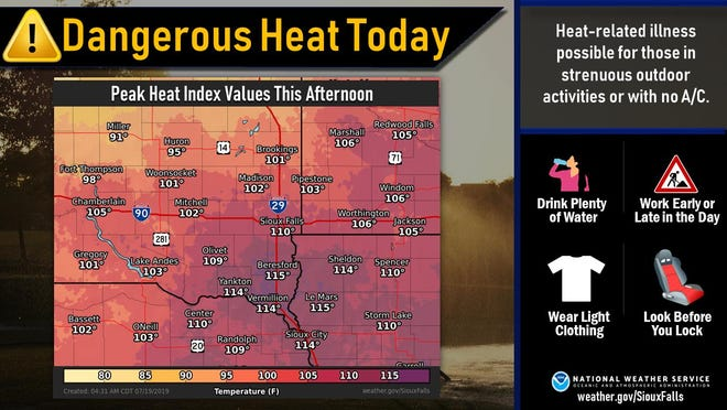 Excessive Heat Advisory