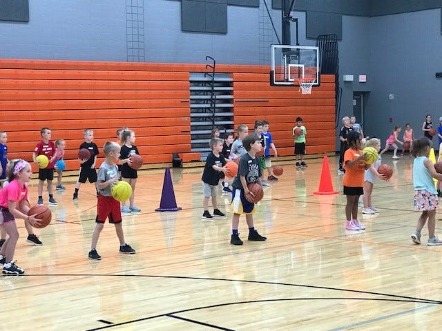 The Dell Rapids All-Star Basketball Camp was held from June 25-28.