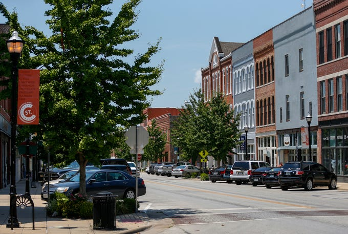 Commercial Street on Wednesday, July 17, 2019.