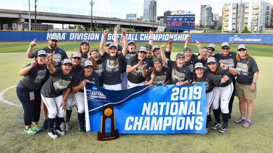 The Augustana softball team won the NCAA Division II national softball championship on May 27, 2019, in Denver, Colorado.