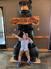 Family photos from Danielle Howell Roland's trip to the Great Wolf Lodge.