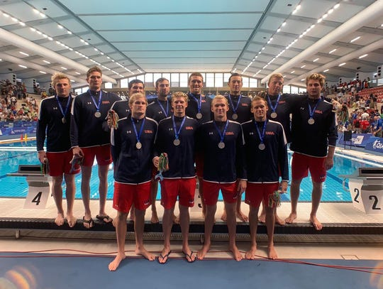 Captained by Oaks Christian graduate Jake Ehrhardt, the U.S. men's national team won the silver medal at the World University Games in Italy on Sunday.