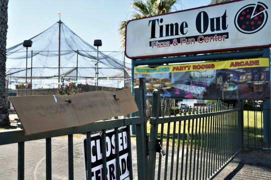 An early morning blaze on Friday, July 19, 2019, forced Tulare's Time Out Pizza and Fun Center to temporarily close.