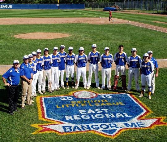 Naamans Senior Little League is representing Delaware at the Senior League east regional tournament in Bangor, Maine.