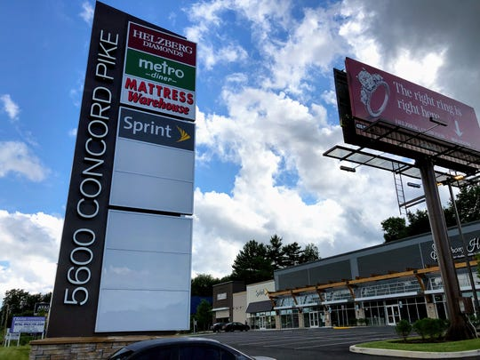 Columbia Care and Symphony Hifi will soon fill out the year-old shopping center at 5600 Concord Pike. The center is less than a mile from the Pennsylvania border in Brandywine Hundred.