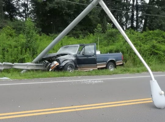 A single vehicle accident on Northpointe Friday resulted in a fatality.
