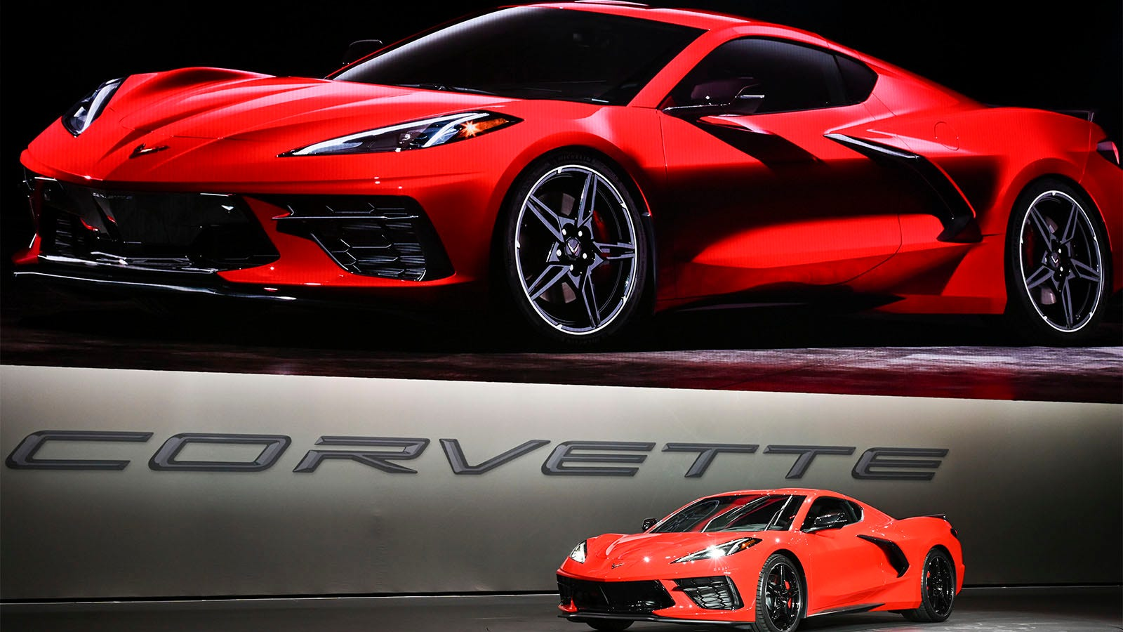 First Look New Mid Engine Corvette Adds More Muscle
