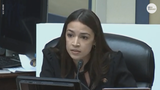 """Rep. Ocasio-Cortez confronted Acting Homeland Security Secretary McAleenan about images of her """"violent rape"""" from a secret Facebook group."""