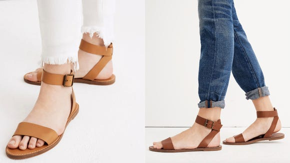 You can get these adorable sandals for under $20 right now.