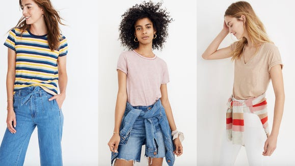 These lightweight t-shirts will get you through summer and beyond.