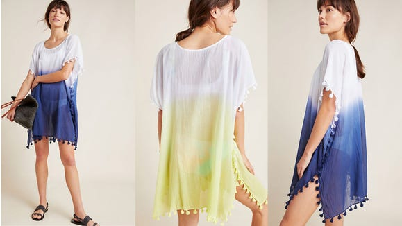This tasseled cover-up will be your new best friend on vacation.
