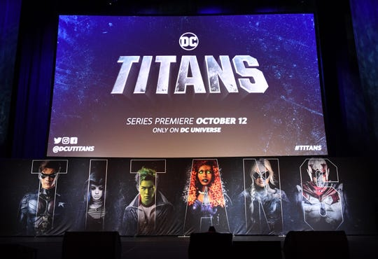 """Titans"" is part of the DC Universe."